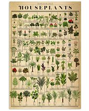 The Horticultural Chart Of Houseplants 24x36 Poster front
