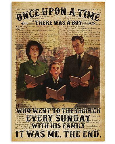 Boy Family Church Bible