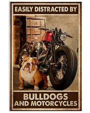 Bulldog And Motorcycles 24x36 Poster front