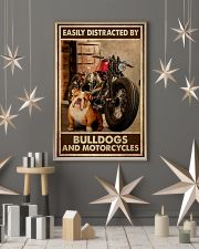 Bulldog And Motorcycles 24x36 Poster lifestyle-holiday-poster-1