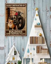 Bulldog And Motorcycles 24x36 Poster lifestyle-holiday-poster-2