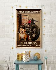 Bulldog And Motorcycles 24x36 Poster lifestyle-holiday-poster-3
