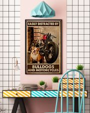 Bulldog And Motorcycles 24x36 Poster lifestyle-poster-6