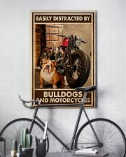 Bulldog And Motorcycles 24x36 Poster lifestyle-poster-7