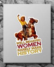 Cowgirl Well Behaved Women Sticker - Single (Vertical) aos-sticker-single-vertical-lifestyle-front-09