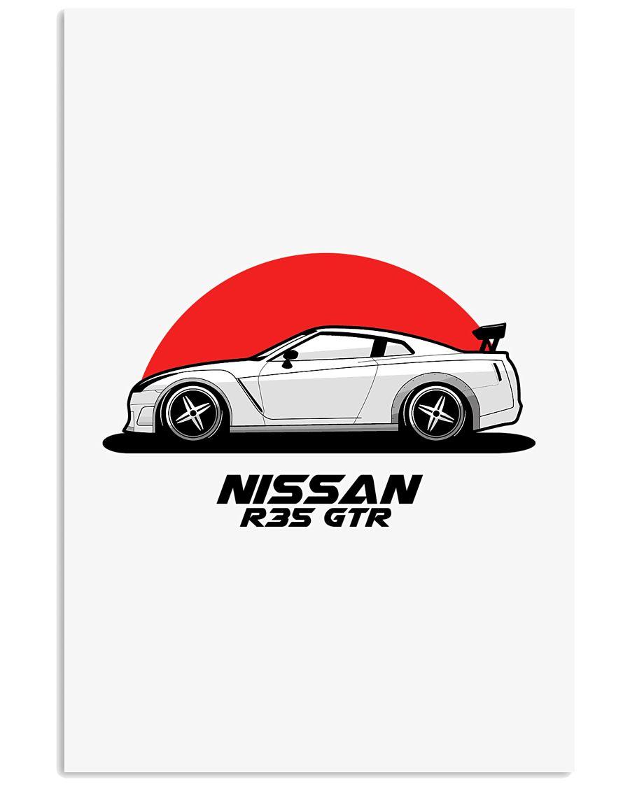 Nissan R35 GTR Poster  11x17 Poster