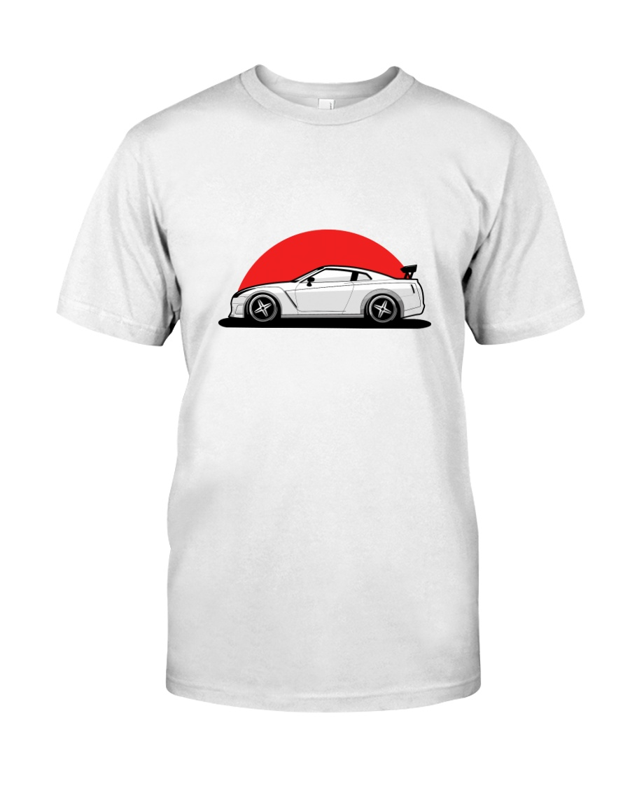 GTR R35 JDM Art T-Shirt Classic T-Shirt
