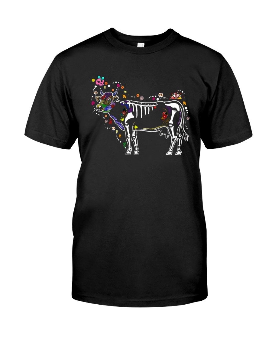 Cow -Day of The Dead Classic T-Shirt