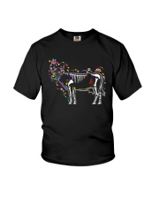 Cow -Day of The Dead Youth T-Shirt thumbnail