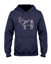 Cow -Day of The Dead Hooded Sweatshirt thumbnail
