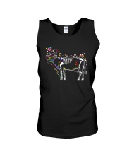 Cow -Day of The Dead Unisex Tank thumbnail