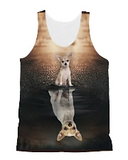 Chihuahua Reflection All-over Unisex Tank thumbnail
