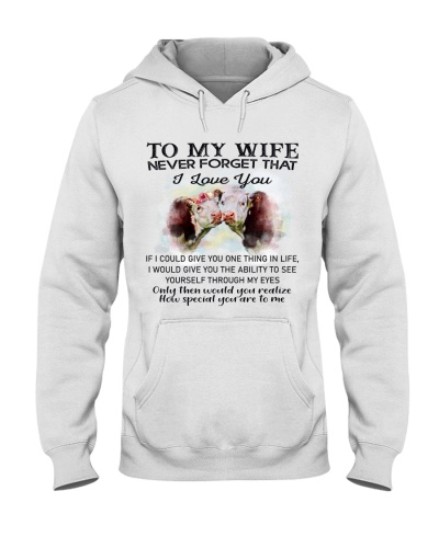 Cows Cows To My Wife Never Forget That I Love You