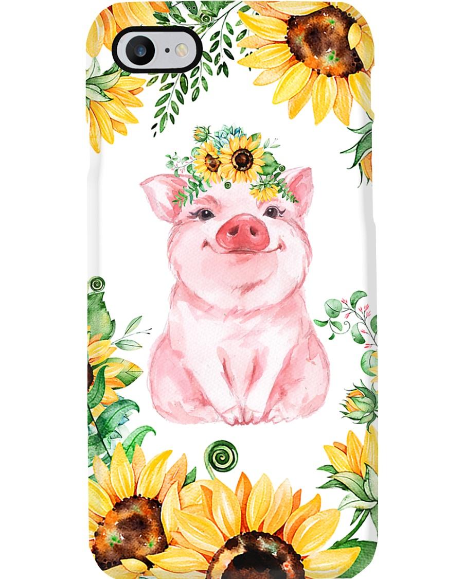 Pig Sunflower Phonecase Phone Case