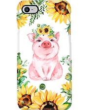 Pig Sunflower Phonecase Phone Case i-phone-7-case