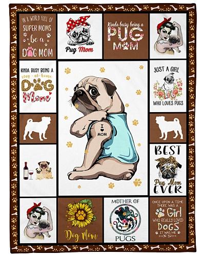 Pug I Love Mom