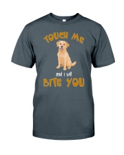 Labrador Touch Me Classic T-Shirt front