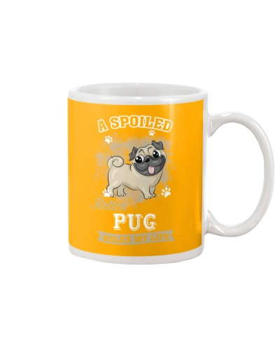 A Spoiled Rotten Pug Rules My Life