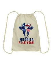 Cow Flag Drawstring Bag thumbnail