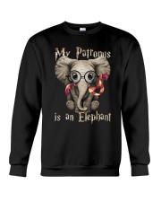 My Patronus is an Elephant Crewneck Sweatshirt thumbnail