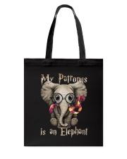 My Patronus is an Elephant Tote Bag thumbnail