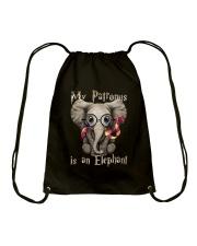 My Patronus is an Elephant Drawstring Bag thumbnail