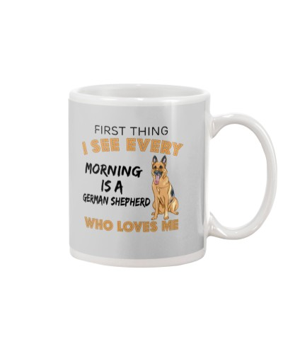 German Shepherd - First Thing I See Every