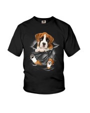 Boxer Scratches Youth T-Shirt thumbnail