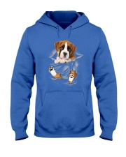 Boxer Scratches Hooded Sweatshirt front