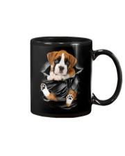 Boxer Scratches Mug thumbnail