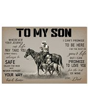 Horse To My Son 17x11 Poster front