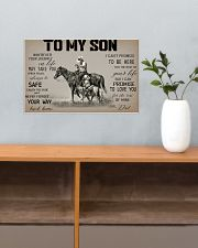 Horse To My Son 17x11 Poster poster-landscape-17x11-lifestyle-24