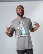 American Bulldog I Love Dad Classic T-Shirt apparel-classic-tshirt-lifestyle-front-32