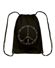 Dragonfly In My Dream For Life Drawstring Bag thumbnail