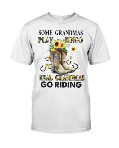 Horse Real Grandmas Go Riding