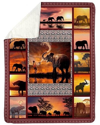 Elephant Funny Sunset Graphic Design