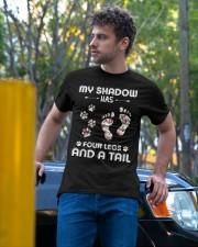Dog My Shadow Has Four Legs Classic T-Shirt apparel-classic-tshirt-lifestyle-front-44