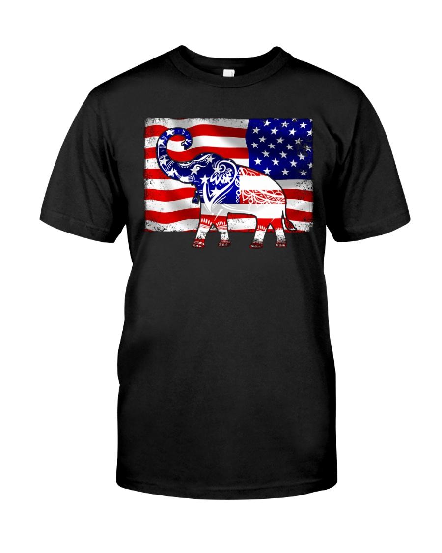 Elephant Flag Classic T-Shirt