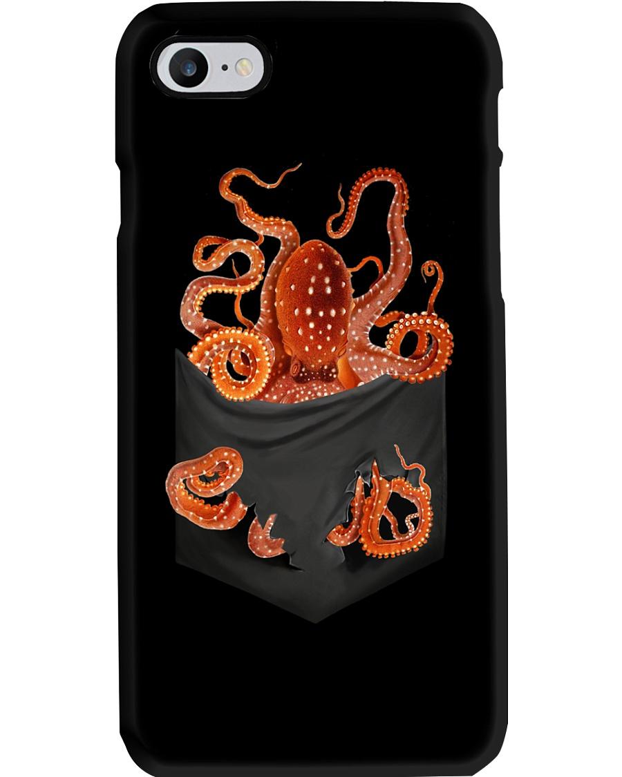 Octopus Inside Pocket  Phone Case