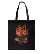 Octopus Inside Pocket  Tote Bag thumbnail