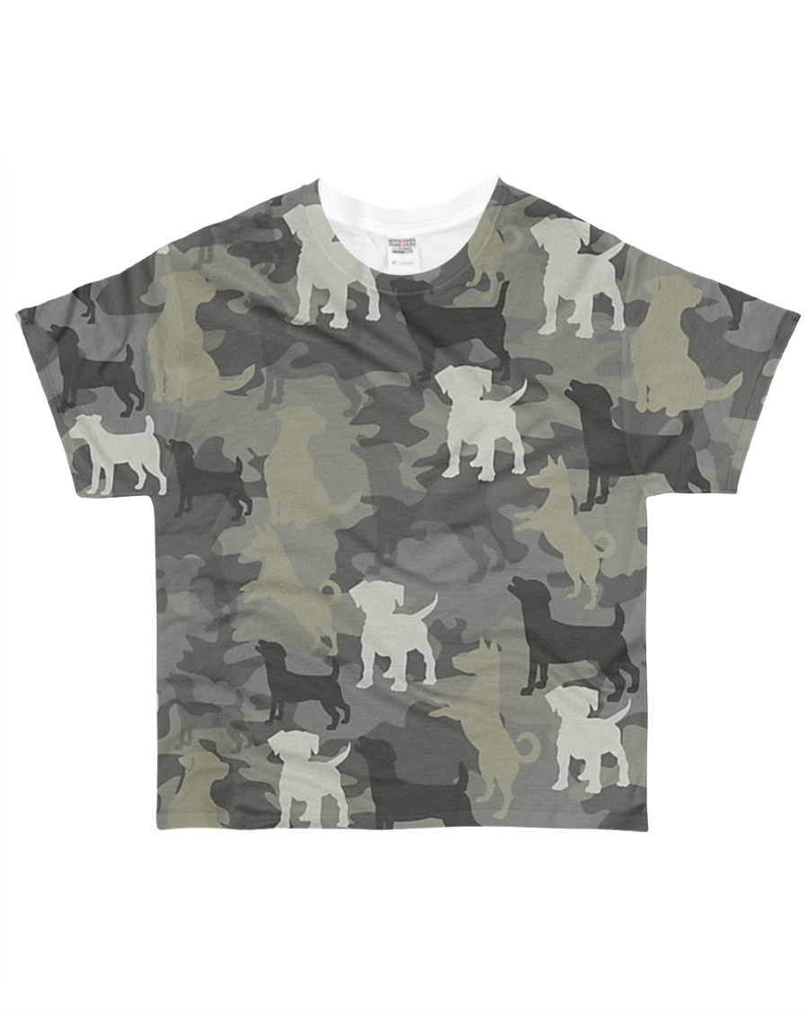 Jack Russell Camouflage All-over T-Shirt