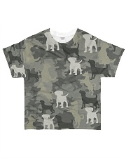 Jack Russell Camouflage All-over T-Shirt front