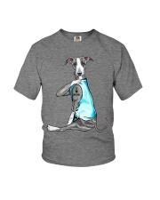 Greyhound I Love Mom Youth T-Shirt thumbnail