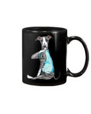 Greyhound I Love Mom Mug thumbnail