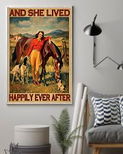 Horse And She Lived Happily Ever After 11x17 Poster lifestyle-poster-1