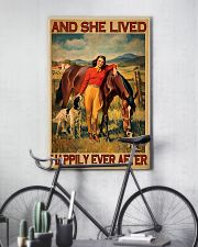 Horse And She Lived Happily Ever After 11x17 Poster lifestyle-poster-7