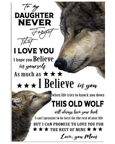 Wolf To My Daughter