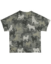 Akita Camouflage All-over T-Shirt back