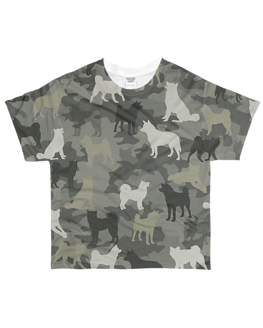 Akita Camouflage All-over T-Shirt