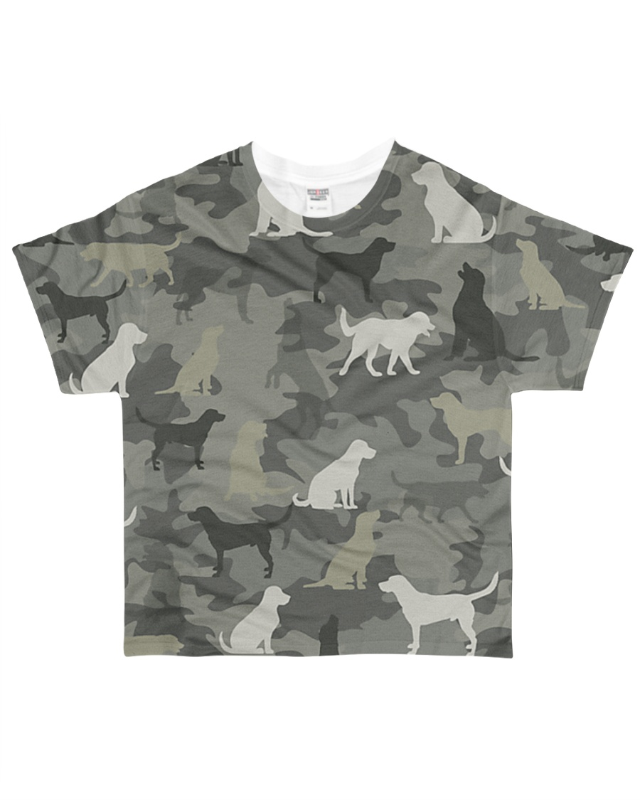 Labrador Camouflage All-over T-Shirt